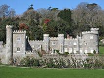 Schloss Cornwall-Caerhays Stockbilder