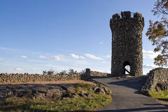 Schloss-Craig-Kontrollturm Stockfotografie