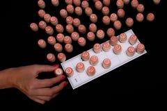 Schloss das Lottospiel ab stockbild