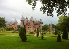 Schloss-De haar lizenzfreie stockfotos