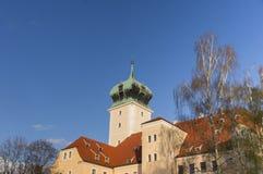 Schloss Delitzsch - idyllischer Edelstein Lizenzfreie Stockfotografie
