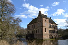Schloss in den Niederlanden Stockbilder