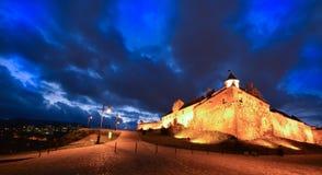 Schloss in der Abendzeit Lizenzfreies Stockbild