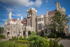 Schloss der Casa LOMA in Toronto Stockbilder