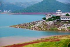 Schloss in der Insel Stockfoto
