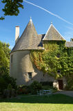Schloss der Menetou Couture Lizenzfreie Stockbilder