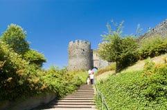 Schloss in der Sonne Lizenzfreie Stockfotos
