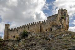 Schloss der Stadt von Frias Burgos, Spanien Lizenzfreie Stockbilder