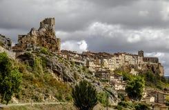 Schloss der Stadt von Frias Burgos, Spanien Stockfoto
