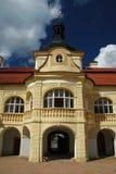 Schloss der Tschechischen Republik nebilovy Stockbild
