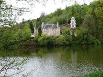 Schloss des Flie in Liverdun-Abteilung meurthe und Mosel lizenzfreie stockfotos