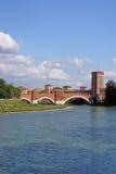 Schloss des Flusses Adige und Veronas Lizenzfreie Stockbilder