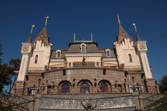 Schloss des Marionettentheaters Lizenzfreie Stockfotografie
