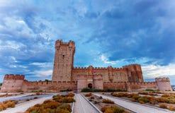 Schloss des Mota Stockfotos