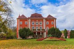 Schloss Detenice auf Tschechisch Lizenzfreie Stockfotos