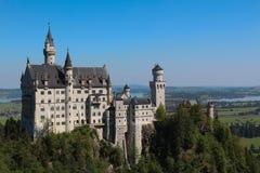 Schloss in Deutschland populär und speziell lizenzfreie stockbilder