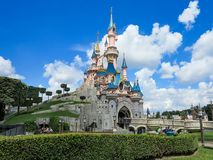 Schloss Disneyland-Paris stockbild