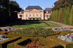 Schloss DobÅÃÅ ¡ lizenzfreies stockfoto