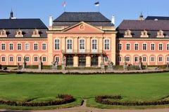 Schloss DobÅÃÅ ¡ lizenzfreie stockfotos