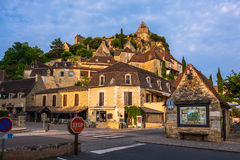 Schloss-Dordogne-perigord Chateau de Beynac, Frankreich Lizenzfreies Stockbild
