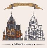 Schloss Drachenburg castle building, konigswinter Stock Photos