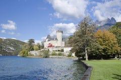 Schloss Duingt Stockfotos