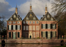 Schloss Duivenvoorde in Voorschoten. Stockbilder