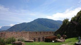 Schloss. Ein italienischen Schloss stock image