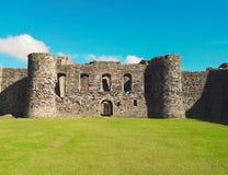 Schloss an einem sonnigen Tag Stockbild