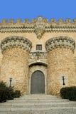 Schloss-Eingang Stockfotos