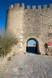 Schloss-Eingang Lizenzfreie Stockfotografie