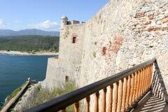 Schloss EL Morro bei Santiago de Cuba Stockfoto