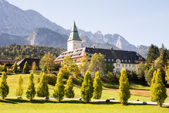 Schloss Elmau Arkivfoto