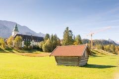 Schloss Elmau Stock Image
