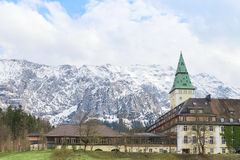 Schloss Elmau is among the Leading Hotels of the World Royalty Free Stock Photos