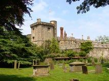 Schloss in England Stockbilder