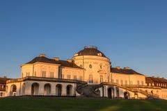 Schloss ensamhet, Baden-Württemberg Royaltyfria Bilder