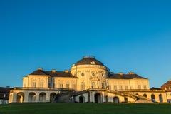 Schloss ensamhet, Baden-Württemberg Arkivbild