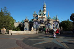 Schloss Fantasyland Disneyland Stockfotografie