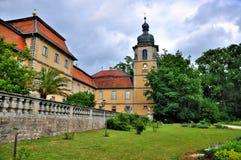 Schloss Fasanarie en Fulda, Hesse, Ger Imagenes de archivo