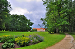 Schloss Fasanarie en Fulda, Hesse, Ger Foto de archivo libre de regalías