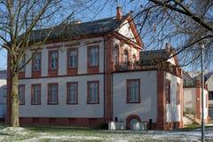Schloss Fechenbach in Dieburg Stockbild