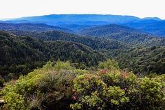 Schloss-Felsen Kalifornien USA, das Ansicht wandert Stockbilder