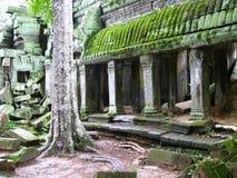 Schloss-Felsen in Kambodscha Stockbilder
