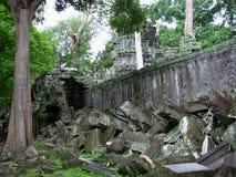 Schloss-Felsen in Kambodscha Lizenzfreies Stockfoto