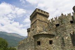 Schloss Fenis Lizenzfreie Stockbilder