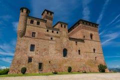 Schloss Fossano, Lizenzfreies Stockbild