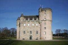 Schloss Fraser lizenzfreies stockfoto