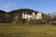 Schloss Frauenstein in Carinthia Stock Image