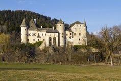 Schloss Frauenstein in Carinthia Stock Photos